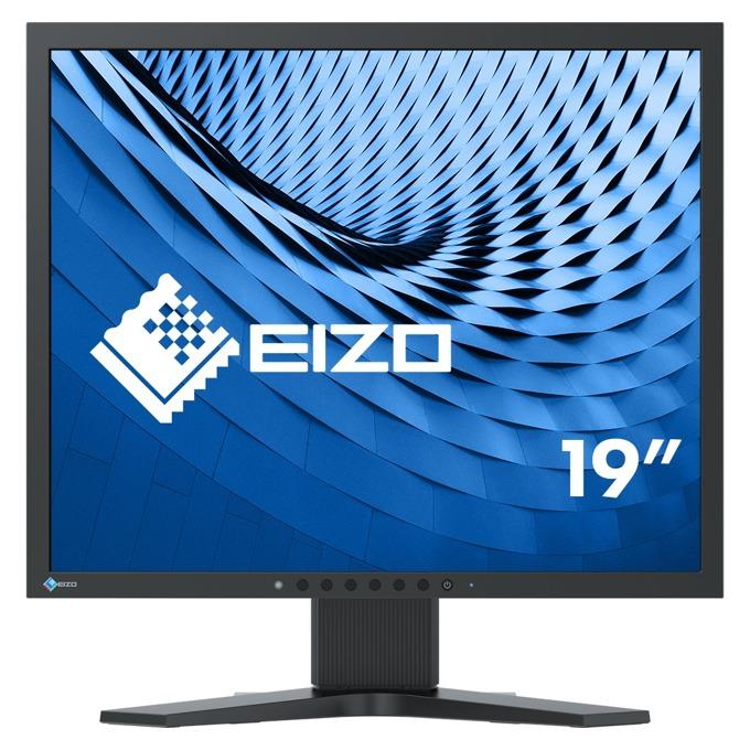 """Монитор EIZO S1934H-BK, 19""""(48.26 см) IPS панел, SXGA, 14ms, 250 cd/m2, DP, DVI image"""