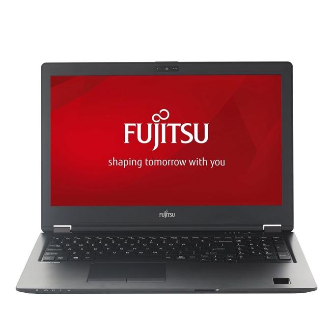 "Лаптоп Fujitsu Lifebook U758 (U7580M37SPRO), четириядрен Kaby Lake R Intel Core i7-8550U 1.8/4.0 GHz, 15.6"" (39.62 cm) 4K UHD IPS LED Anti-Glare Display, (DP), 16GB DDR4, 1TB SSD, 1x USB Type C, Windows 10, 1.72 kg image"