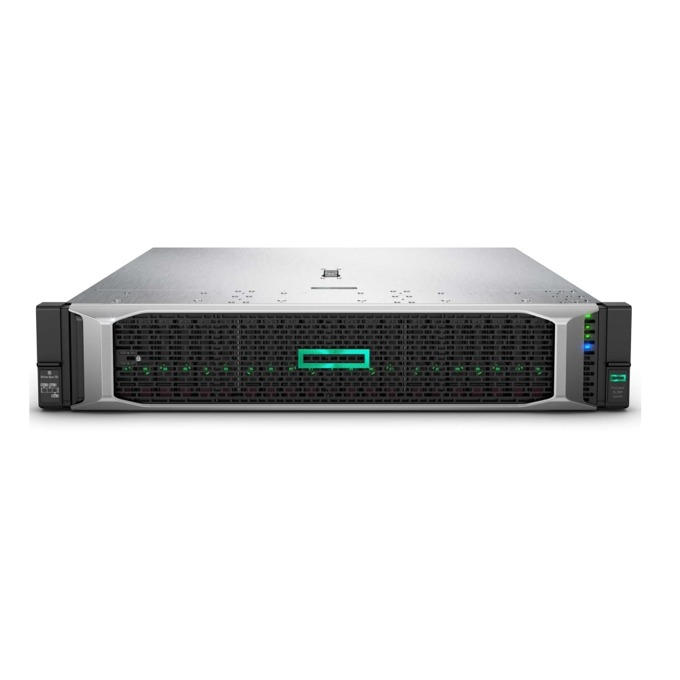 Сървър HPE ProLiant DL380 G10 (PERFDL380-005), 2x дванадесет ядрен Intel Xeon-Gold 5118 2.3GHz, 64GB RDIMM & 2x 32GB 2Rx4 PC4, 2x 1.2TB SAS HDD, DP, 4x 1GbE, 1x Micro SD, 5x USB 3.0, 2x 800W захранване image