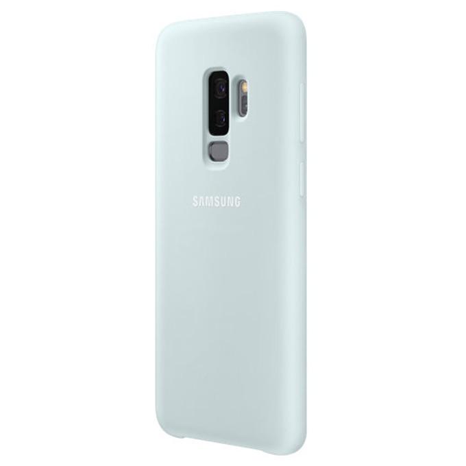 Калъф за Samsung Galaxy S9 +, протектор, силиконов, Samsung EF-PG965TLEGWW, син image