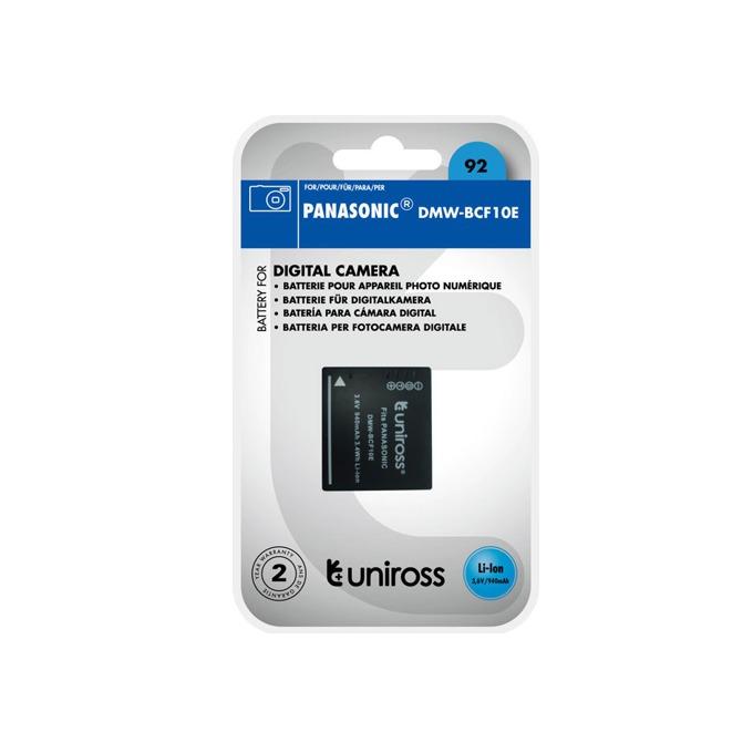 Батерия Cameron Sino за апарат Panasonic DMW-BCF10E, LiIon 3.7V, 940mAh  image