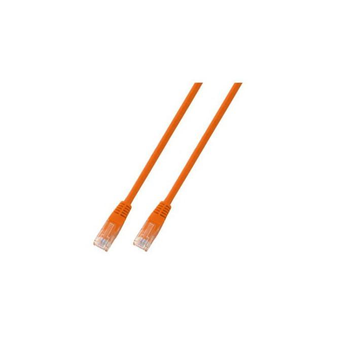 Пач кабел UTP EFB Elektronik, 3m, Cat 5E, оранжев image