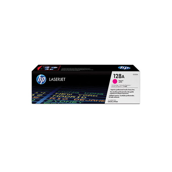 КАСЕТА ЗА HP COLOR LASER JET CM1415/CP1525/HP128A Print Cartridge - Magenta - P№ CE323A - заб.: 1300k image