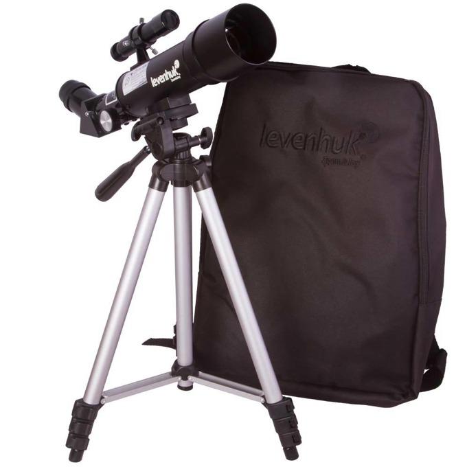 Телескоп Levenhuk Skyline Travel 50, 100x оптично увеличение, 50mm диаметър на лещата, 360 mm фокусно разстояние image