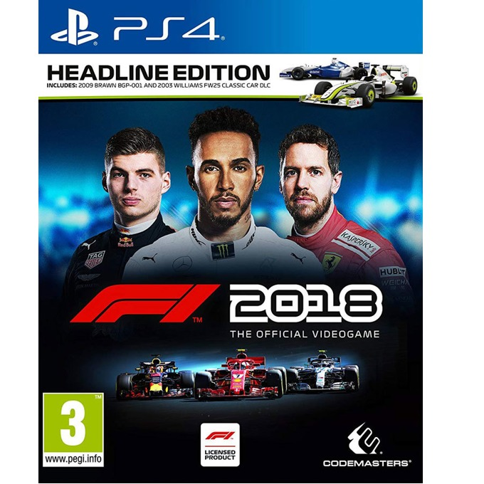 F1 2018 Headline Edition, за PS4 image