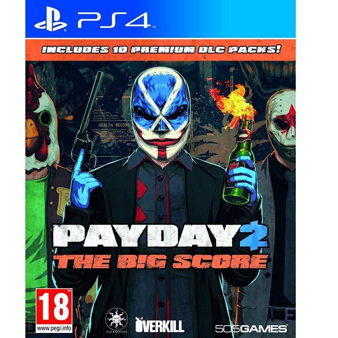Игра за конзола Payday 2 The Big Score, за PS4 image