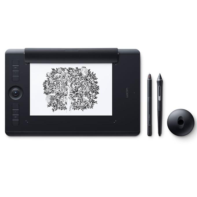 Графичен таблет Wacom Intuos Pro Paper M North (черен)(PTH-660P-N) image