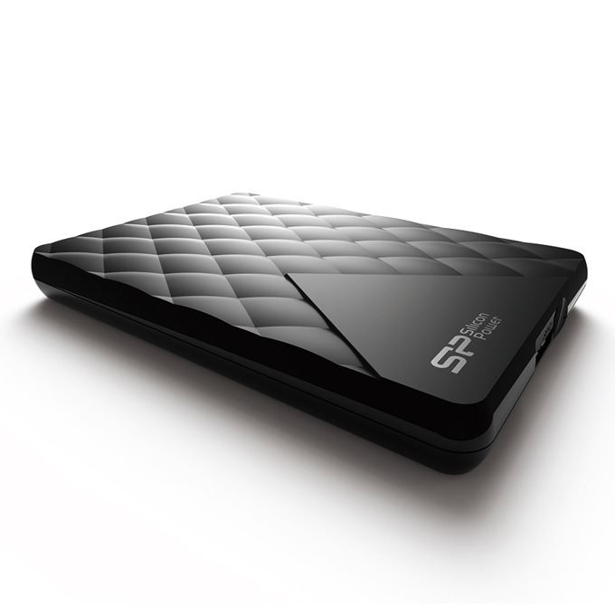 """Твърд диск 2TB Silicon Power Diamond D06, черен, 2.5"""" (6.35 cm), външен, USB3.0, 2г. гаранция image"""