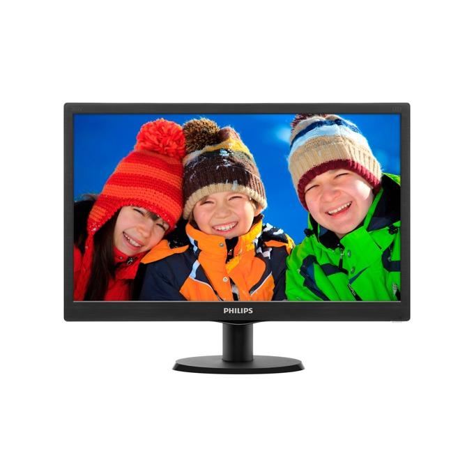 """Монитор 19.5"""" (49.53 cm) Philips 203V5LSB26, HD+ LED, 5ms, 10 000 000:1, 200cd/m2 image"""