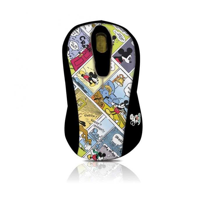 Мишка Circuit Planet Mickey DSY-MO151, оптична (800 dpi), USB, щампа image