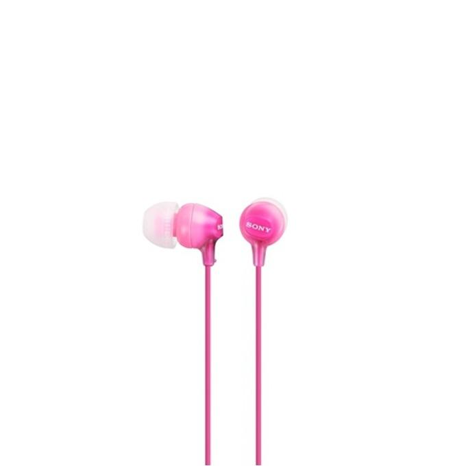 Слушалки Sony MDR-EX15LP, розов image