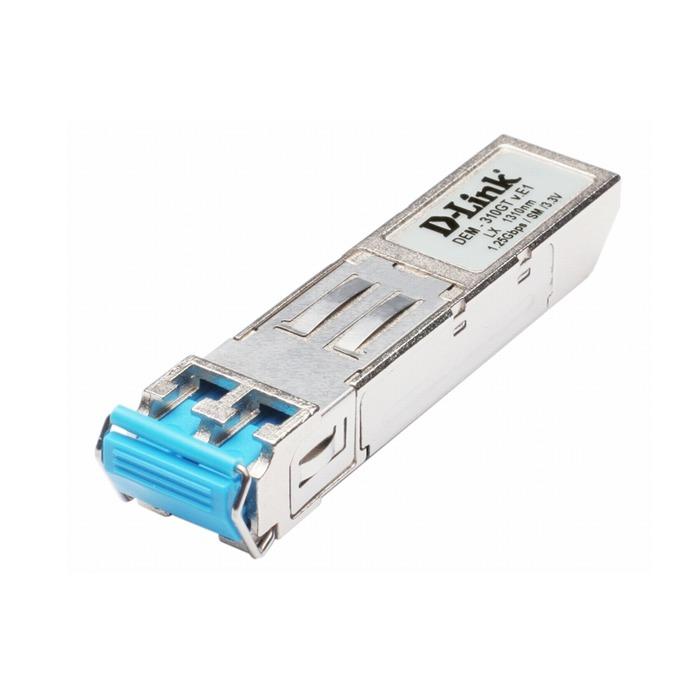 D-Link DEM-310GT, 1-Port Mini-GBIC 10/100/1000BaseLX Transceiver image