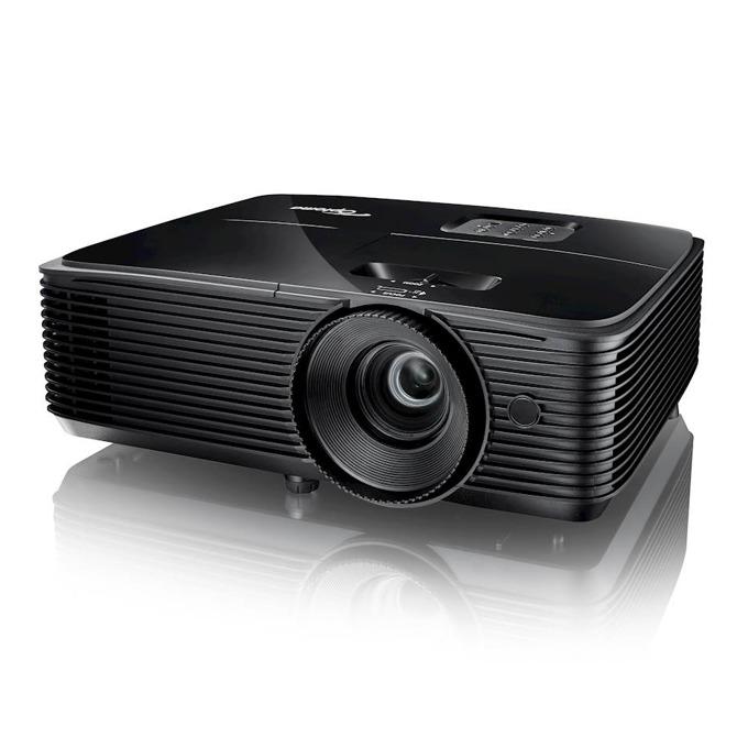 Проектор Optoma H116, Full 3D, DLP, WXGA(1280x800), 30 000:1, 3800lm, HDMI, VGA, USB A, RS232 image