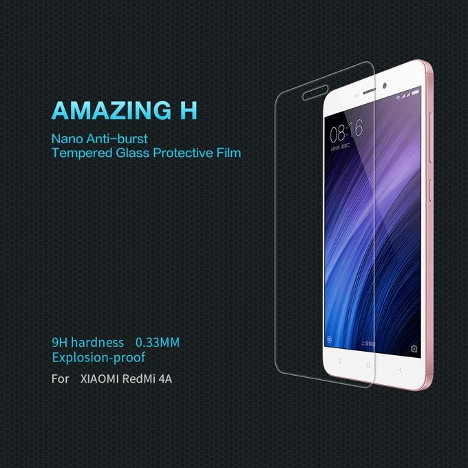 Протектор от закалено стъкло/Tempered Glass/, Nillkin 9H, за Xiaomi Redmi 4A image