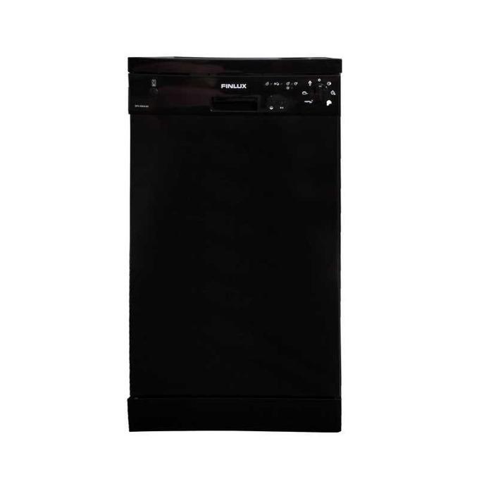"""Съдомиялна Finlux DFX 4560A BK, клас A+, 10 комплекта, 6 програми, 4 температури, """"Overflow"""" система, черна image"""