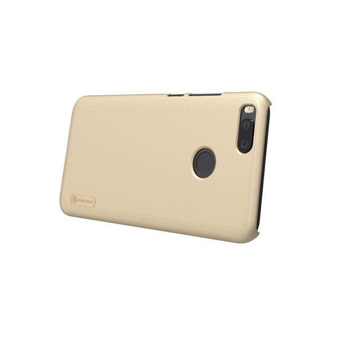 Калъф за Xiaomi Mi A1, страничен протектор с гръб, пластмаса, Nillkin Mi A1 Back cover, удароустойчив, златист image
