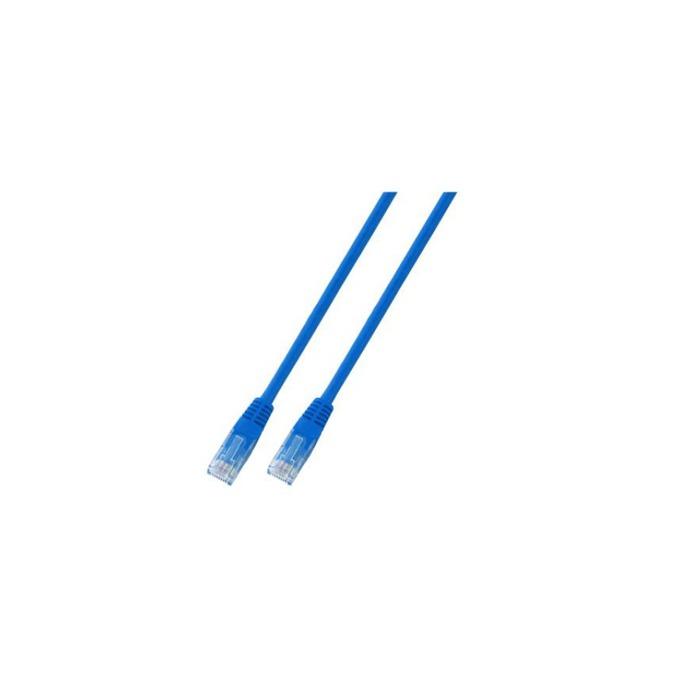 Пач кабел UTP EFB Elektronik, 2m, Cat 5E, син image