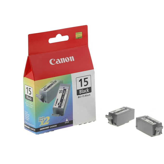 ГЛАВА CANON i70/i80 - Black twin pack - BCI-15 - заб.:185 pages. image