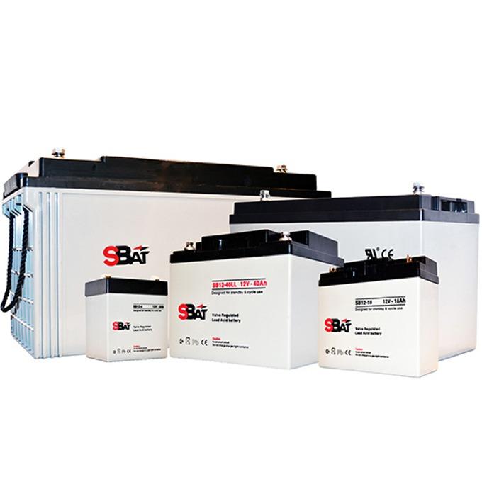 Акумулаторна батерия SBat SB12-100LL, 12V, 100Ah image