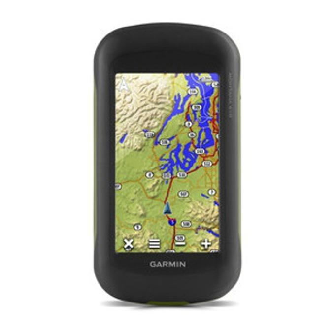 """Ръчна навигация Garmin Montana 610, 4""""(10.16 cm) TFT дисплей, 8 mpix, 2.7GB + microSD Flash, BlueChart, IPX7, Световна базова карта image"""