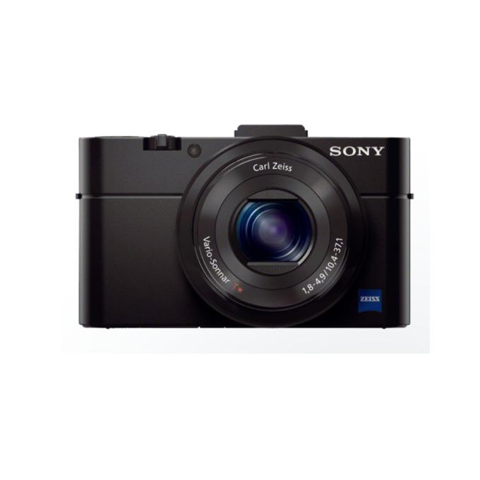 "Фотоапарат Sony Cyber Shot DSC-RX100M2, черен, 3.6xOptical zoom, 20.2Mpix, 3.0"" (7.62cm) екран, SDHC/SDXC, micro USB, micro HDMI image"