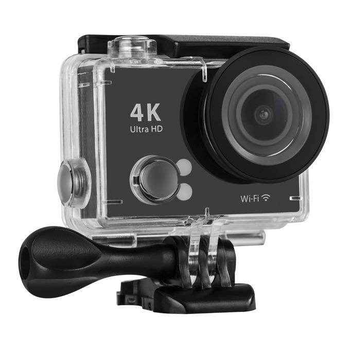 "Спортна Екшън камера Acme VR06, 4K Ultra HD(25FPS), 2.0"" (5.08 cm) LCD дисплей, 12 Mpix, Wi-Fi, microSD слот, micro HDMI, micro USB, водоустойчива image"