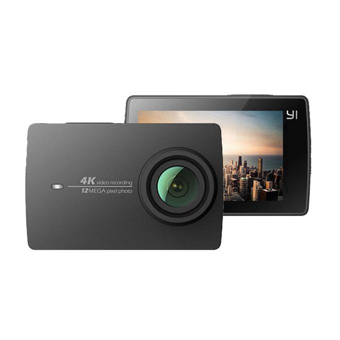 """Спортна Екшън камера Xiaomi YI 4K, екшън камера, Ultra HD 4K(30FPS), 2.19""""(5.1 cm), сензорен дисплей, Wi-Fi, SD слот за карта image"""