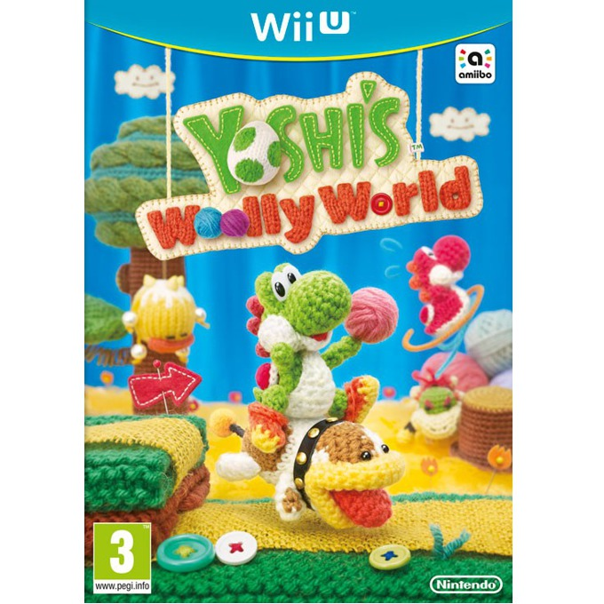 Игра за конзола Yoshis Woolly World, Wii U image