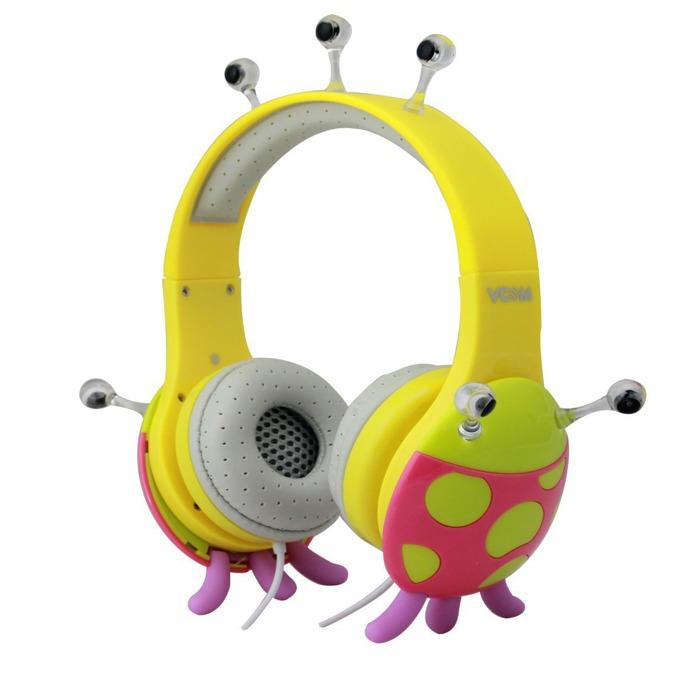 Слушалки VCom DE802 Children Headphones Monster series, за деца image