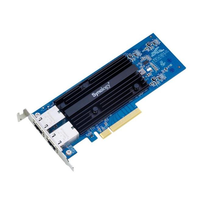 Мрежови адаптер Synology E10G18-T2, от PCIe 3.0 x4(м) към 2x RJ-45(ж), 10 Gbps, за Synology NAS сървъри image