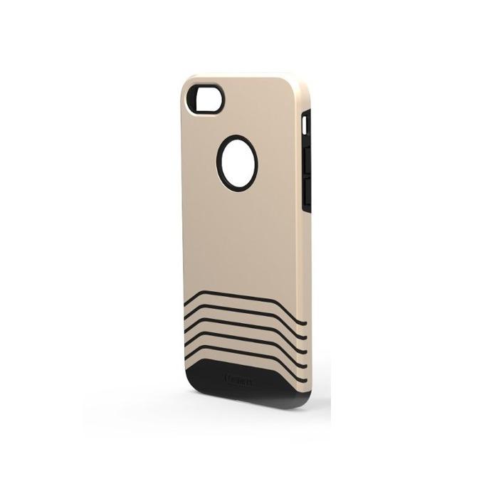 Калъф за Apple iPhone 7 Plus, полиуретанов протектор, TPU, Remax Saman, златист image