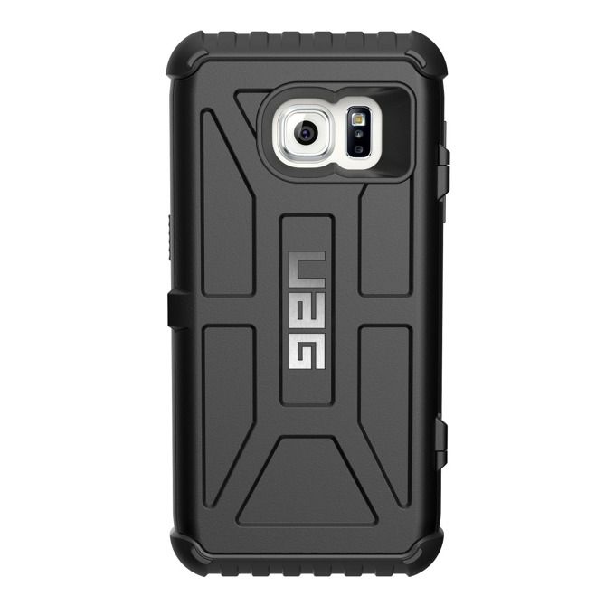 Хибриден кейс Urban Armor Gear Scout Card, Galaxy S7, удароустойчив, отделение за кр.карти, черен image