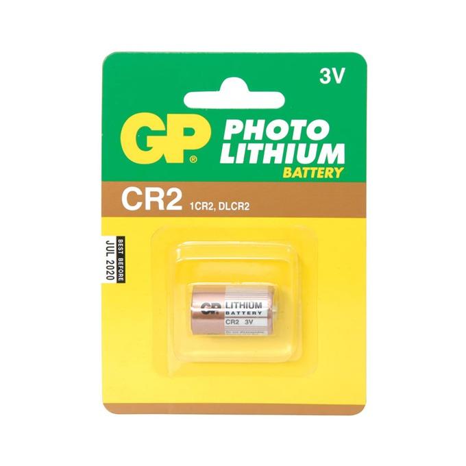 Батерия литиева GP Photo CR2, 3V, 1 бр. image