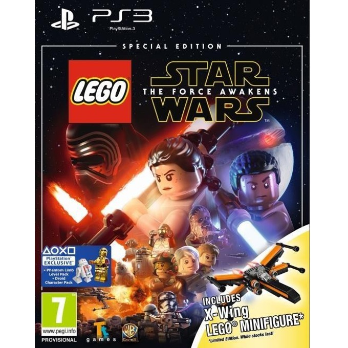 LEGO Star Wars The Force Awakens Toy Edition, за PS3 image