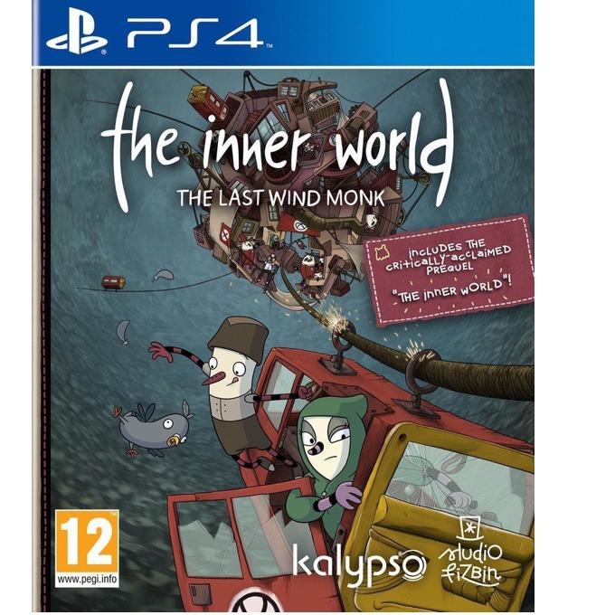 Игра за конзола The Inner World: The Last Windmonk, за PS4 image