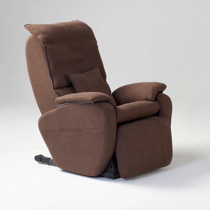 Масажен стол Rexton LC5000F-C, ролков безшумен механизъм, многофункционален пулт за управление, сменяема тапицерия, кафяв image