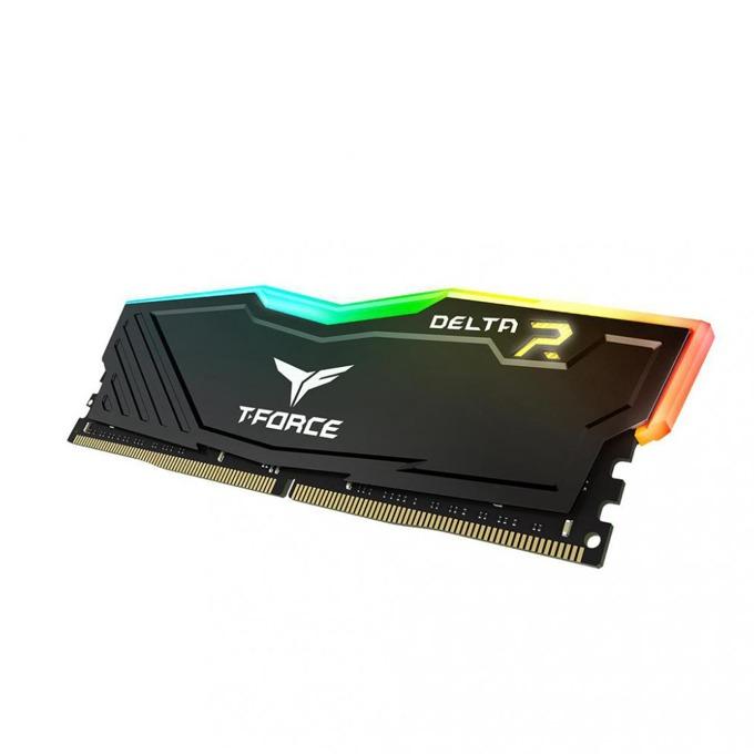 Памет 8GB DDR4 2400 MHz, Team Group DELTA RGB, TF3D48G2400HC15B01, 1.2V image