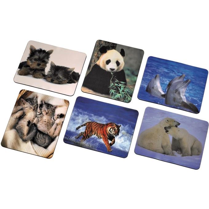 Подложка за мишка, снимки с животни, 220 x 180 x3mm image