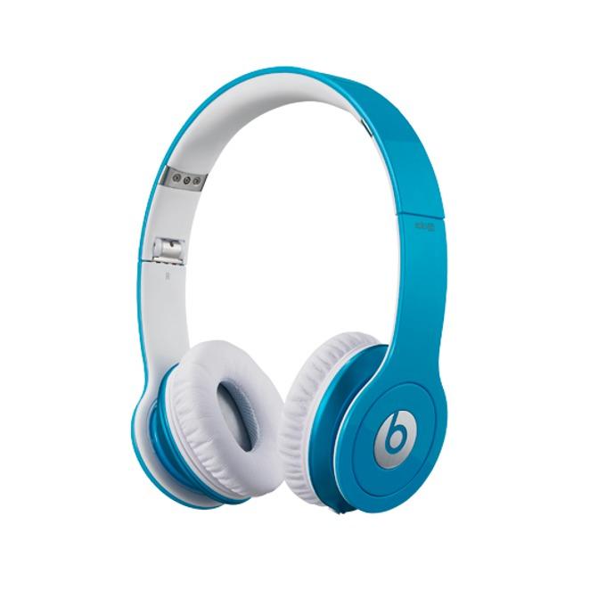 Слушалки Beats by Dre Solo HD On Ear, светло-сини, сгъваеми, оптимизирани за iPhone/iPad/iPod image