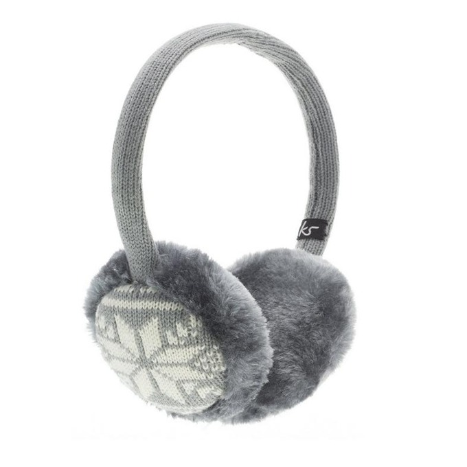 Слушалки KitSound Earmuffs Fairislie, сиви, с ушанки image