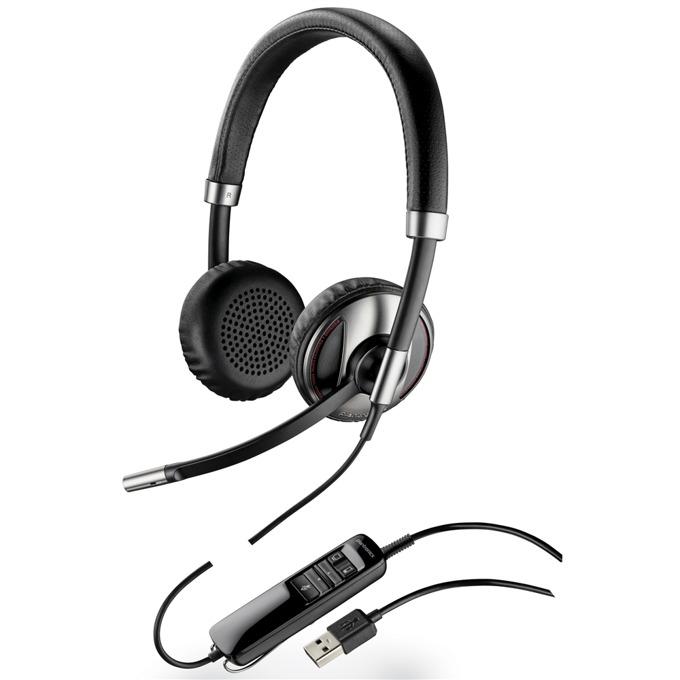 Слушалки Plantronics Blackwire C720, широколентов звук, DSP, USB image