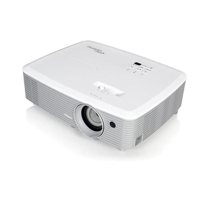 Проектор Optoma W400+, DLP, 3D Ready, WXGA (1280x800), 22 000:1, 4000 lm, 2x HDMI, LAN, 2x D-sub, USB A, RS232 image