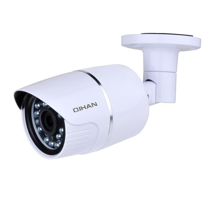 "IP камера Qihan QH-NW557DO-P, IP камера, водоустойчива, 4.0 MP, 2688x1520@20fps, 1/3"" CMOS, POE, 3.6mm, ИЧ-20m image"