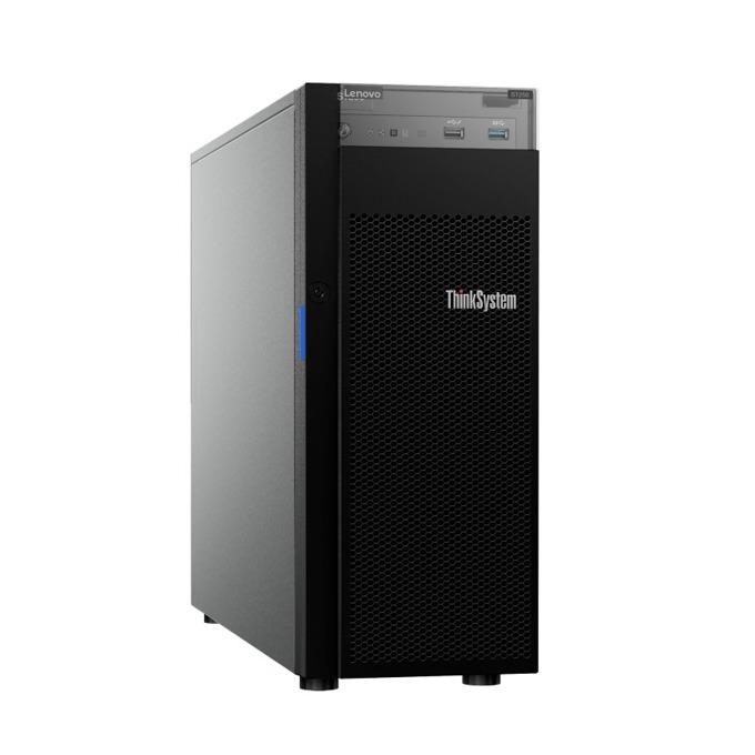 Сървър Lenovo ThinkSystem ST250 (7Y45A00QEA), четириядрен Coffe Lake Intel Xeon E-2144G 3.6/4.5 GHz, 16GB DDR4, без HDD, 2x 1Gbe LAN, 2x USB 3.1, без ОС, 1x 550W image