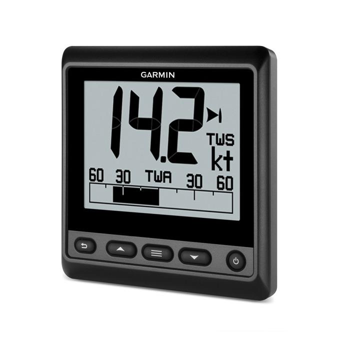 "Ветроходен уред Garmin GNX 20 Marine Instrument, подходящ за платноходи, 4.0""(10.16 cm) LCD монохромен дисплей, IPX7 водоустойчивост image"