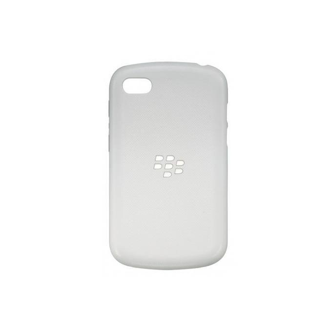 Калъф за Blackberry Q10, страничен протектор с гръб, поликарбонатов, Blackberry Hard Shell, бял image