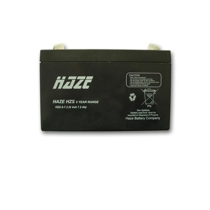 Haze (HZS6-7.2) 6V/7.2Ah AGM