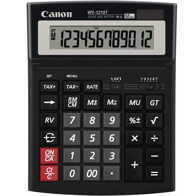 Canon WS-1210T Desktop Calculator