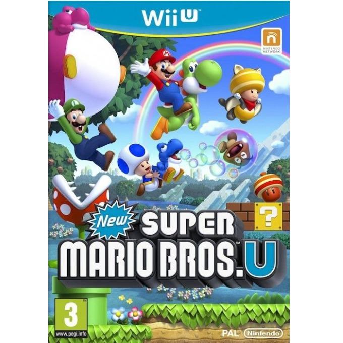 Игра за конзола New Super Mario Bros. U, за Wii U image