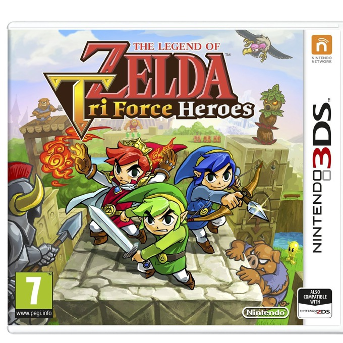 The Legend Of Zelda Tri Force Heroes, за 3DS image